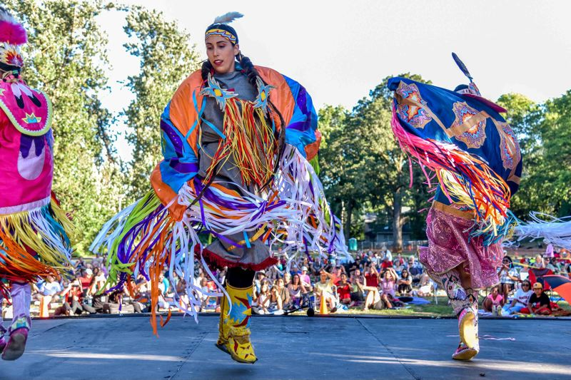 COURTESY PHOTO: PORTLAND PARKS AND RECREATION - The Washington Park Summer Festival, Aug. 1-4, includes Painted Sky Northstar Native Dance Company.