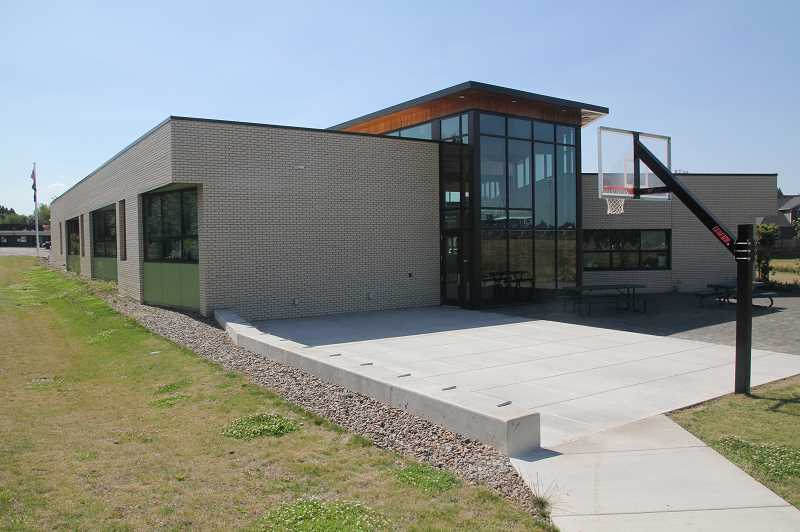 PMG PHOTO: JUSTIN MUCH - Woodburn School Districts newest school building, Success Alternative High School, has been lauded for its bright environs and energy efficiency.