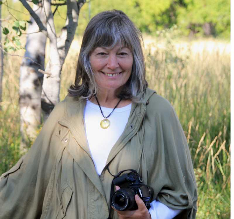 PHOTO COURTESY OF PAM CLAFLIN - Pamela Claflin, Rimrock Gallery owner, is photographed at Sliver Creek in Idaho.