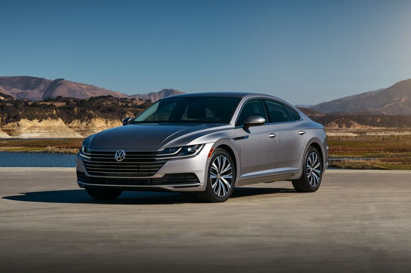 VOLKSWAGEN OF AMERICA - The 2019 Volkswagen Arteon drives even better than it looks, and it looks great for an affordable family car.