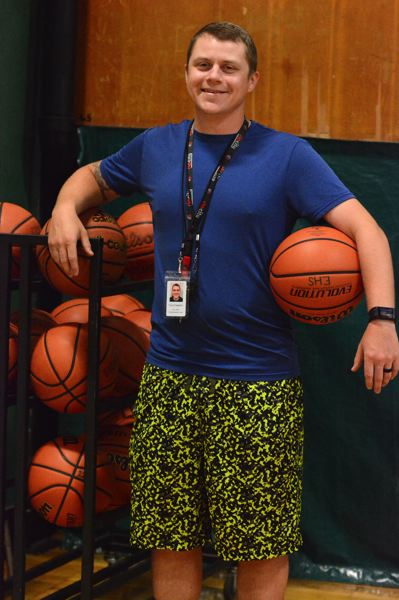 PMG PHOTO: DAVID BALL - Kyle Gilstad, a 2004 Estacada graduate, takes over as the Rangers newest boys basketball coach.