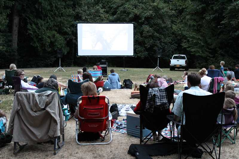 COURTESY PHOTO - There are three more Movies in the Park showings in West Linn during August.