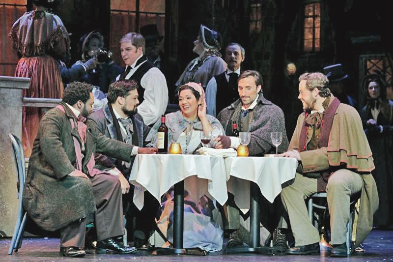 PMG FILE PHOTO - Offering classics and fan favorites like 'La Boheme' can keep the seats filled, but Portland Opera still is operating on deficit spending.