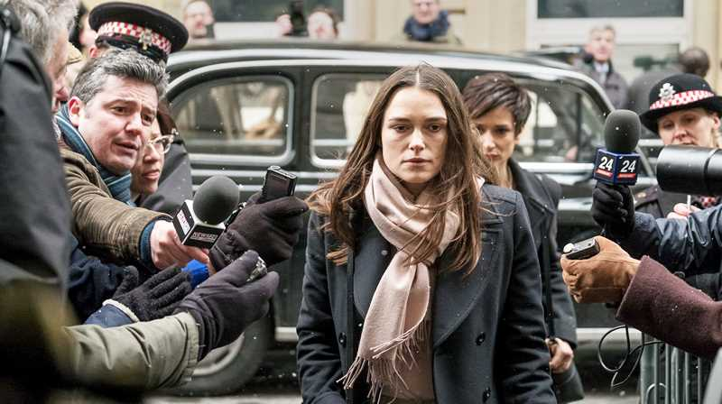 SUBMITTED PHOTO - Keira Knightley plays Katherine Gun, a whistleblower who leaked top-secret information in the ramp up to the Iraq War in 2003.