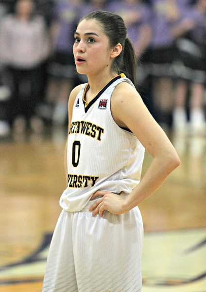 JAYSON SMITH - Mariah Stacona, 2015 MHS grad, has the Northwest University girls basketball school record for both career free throw percentage (.81) and career assist to turnover ratio (1.41)