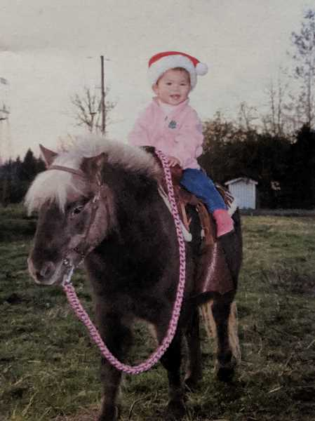COURTESY PHOTO - Winter Palmateer has been riding horses her whole life.