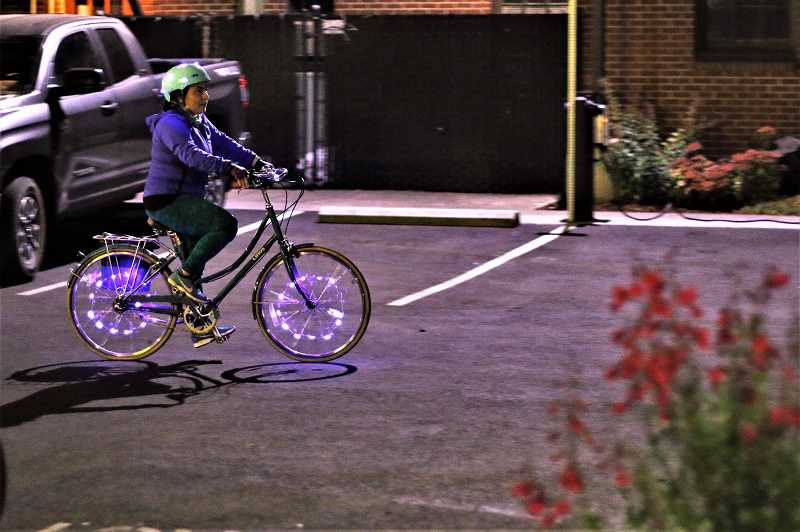 COURTESY PHOTO - The 12-mile Faraday Moonlight Ride is scheduled for 9 p.m. Saturday, Aug. 17.