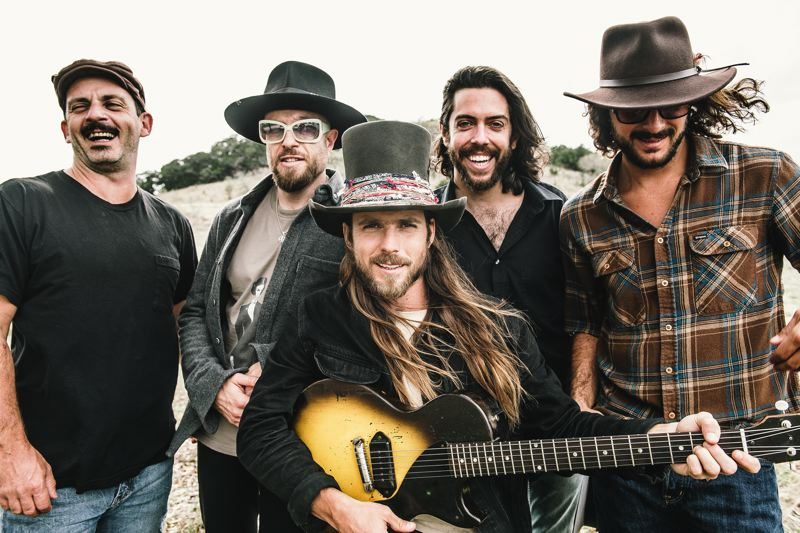 COURTESY PHOTO: JOEY MARTINEZ - Lukas Nelson, center, and Promise of the Real will perform with Steve Earle & The Dukes at the Oregon Zoo on Sunday, before opening for The Rolling Stones in Seattle on Wednesday.
