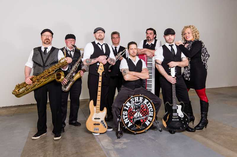 Ants in the Kitchen will play Aug. 15 at Tanner Creek Park in West Linn as the Music in the Park concert. The band features LaRhonda Steele on vocals.