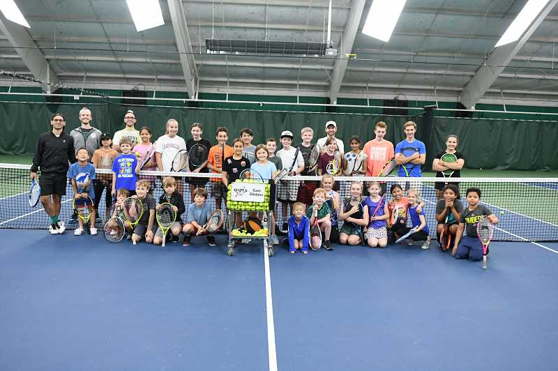 COURTESY PHOTO  - Children ages 7 through 18 can learn to play tennis. Lake Oswego Parks and Rec offers two camps now.