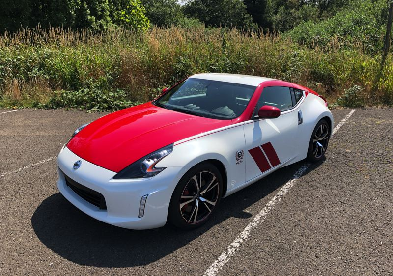 PMG PHOTO: JEFF ZURSCHMEIDE - The 50th Anniversary Nissan 370Z features special paint and genuine performance upgrades.