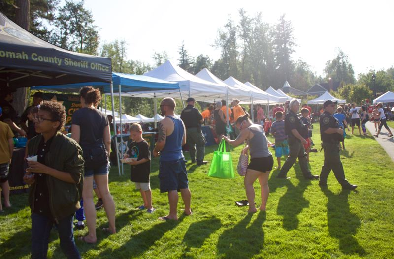 PMG PHOTO: CHRISTOPHER KEIZUR - Fairviews event was the largest in the region, with resource booths, food and live music.