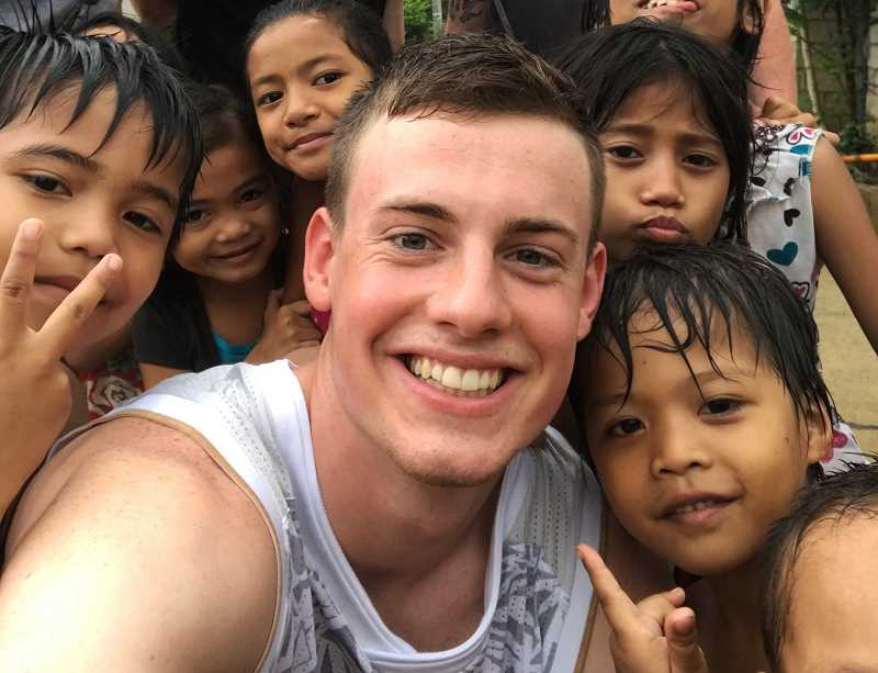 COURTESY PHOTO - Ben Grandle went on a mission trip to the Phillipines this summer.