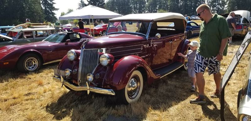 COURTESY PHOTO: HIGHWAY 30 CRUSIERS - The Highway 30 Cruisers car club will be hosting their annual car show during Wings and Wheels on Saturday, Aug. 17. Organizers are expecting nearly 160 vehicles to be on display this year.
