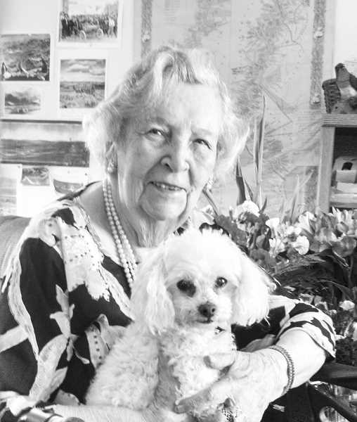 PHOTO COURTESY OF BOWMAN MUSEUM - Frances Juris spent many years in civic affairs and working for the city of Prineville.