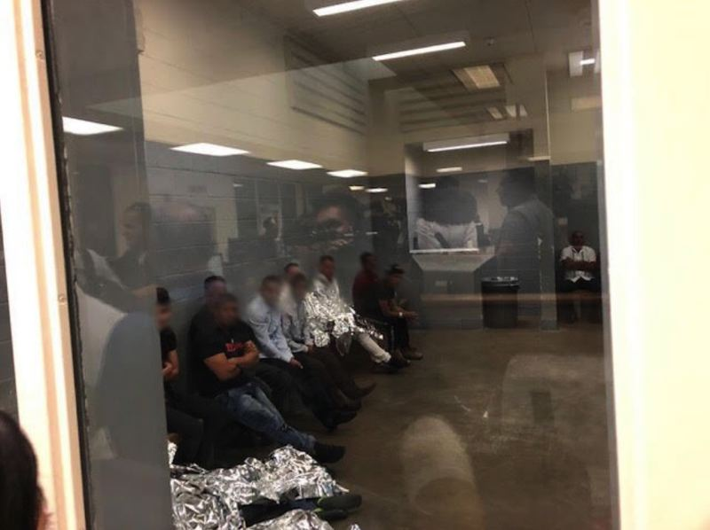 COURTESY PHOTO - Rep. Earl Blumenauer visited border facilities in Juarez, Mexico and El Paso, Texas during a two-day trip with other members of the U.S. House.