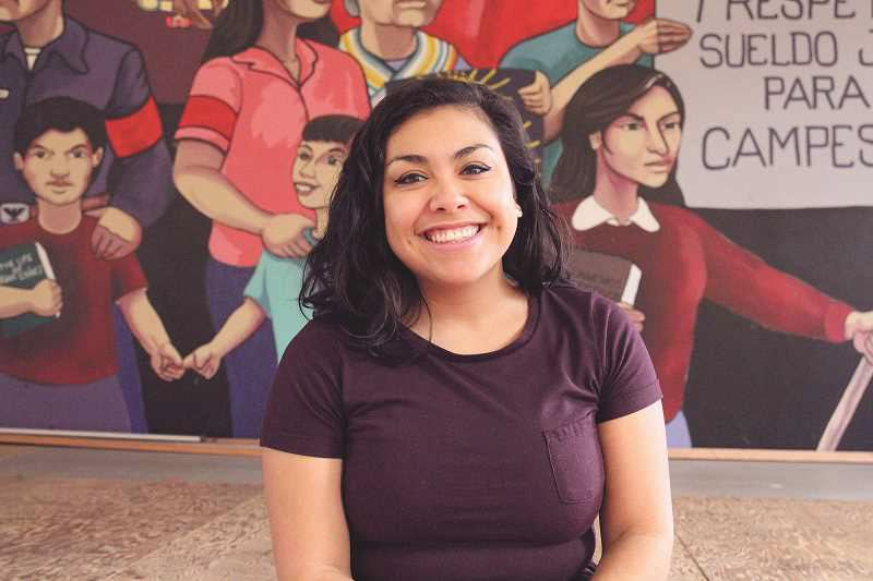 PMG FILE PHOTO - Reyna Lopez of Oregon's PCUN Latinx political group says she and others are concerned the El Paso shooting that targeted Mexicans and Hispanics.