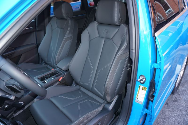 PMG PHOTO: JEFF ZURSCHMEIDE - The front seats in the Q3 are as comfortable and supportive as you expect from Audi.