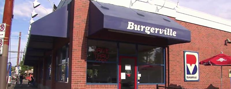 KOIN 6 NEWS - This local Burgerville in Portland was shuttered after workers went on strike on Friday.