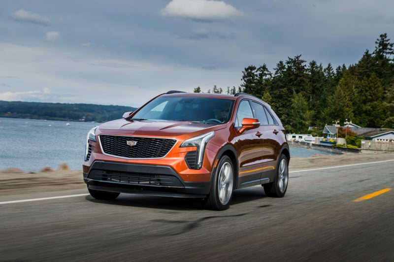 COURTESY CADILLAC - The first-ever Cadillac XT4 should appeal to anyone looking for a luxury compact crossover.