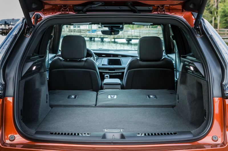COURTESY CADILLAC - The 2019 Cadillac XT4 offers enough cargo space for extended trips.