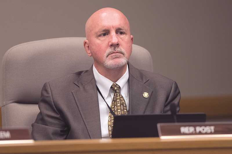 PMG FILE PHOTO - House District 25 Rep. Bill Post.