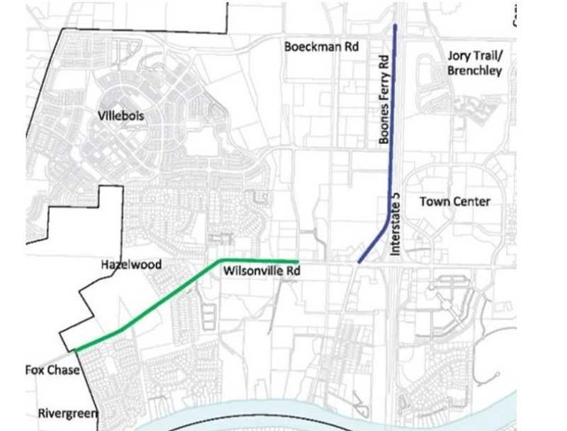 The City of Wilsonville starts projects to improve three roads