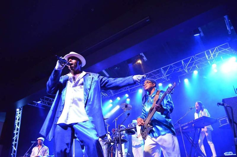COURTESY PHOTO - Kalimba will play songs in the spirit of Earth, Wind & Fire on Thursday in Oregon City.