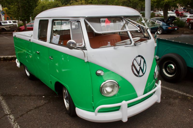 PMG PHOTO: CHRISTOPHER KEIZUR - Scott and Suzanne Clarks 1961 VW Double Cab.