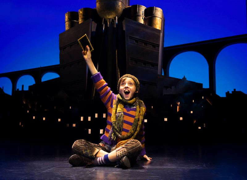 COURTESY PHOTO: JOAN MARCUS - The Broadway In Portland features 'Roald Dahl's Charlie and the Chocolate Factory, ' Aug. 13-18 at Keller Auditorium.