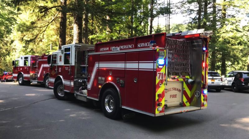 KOIN 6 NEWS - Gresham Fire responded  Monday afternoon to Obow Regional Park on a report of a drowning.