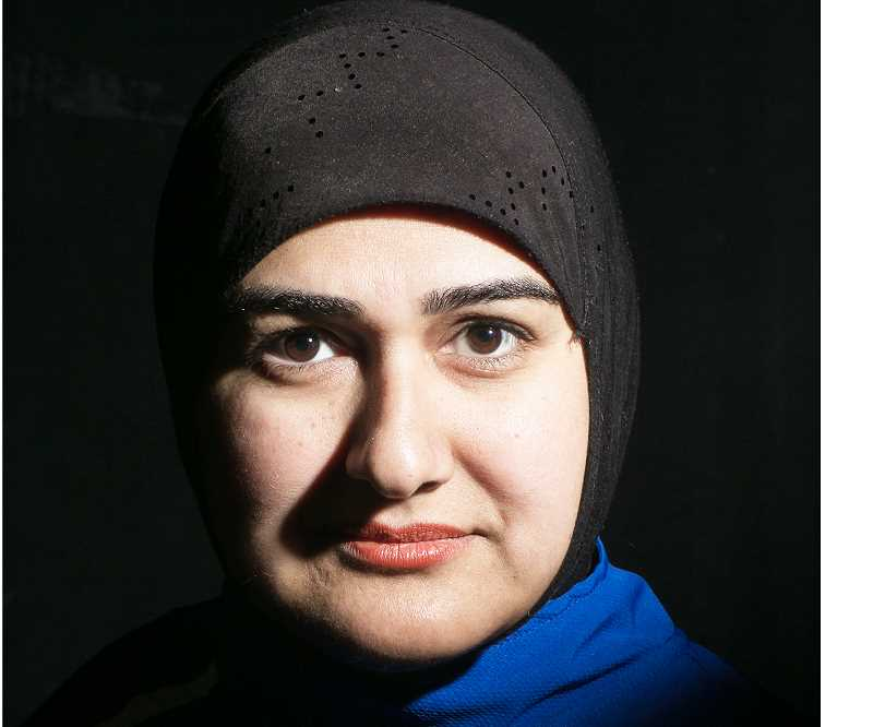 PHOTO COURTESY OF RHETT LUEDTKE  - Actor and playwright Rohina Malik has been commissioned to present the Muslim point of view in the Big Bridge Theatre Consortirum's second play, which will be performed around the country.