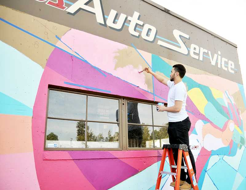 GRAPHIC FILE PHOTO - A recent city decision will allow murals to be erected on public buildings in Newberg.