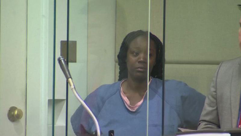 KOIN 6 NEWS - Circuit Tamena Strickland appeared in Multnomah County Court on Aug. 5.
