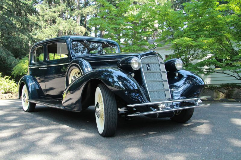 PMG PHOTO SAM STITES - Classic cars like this  will be on display Sunday, Aug. 25 in Lake Oswego's George Rogers Park.