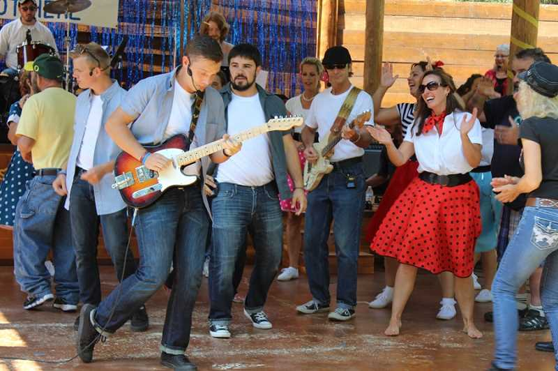 COURTESY PHOTO - Members of the Aspen Meadow Band will host a 1950s and 60s inspired event with their annual Summer Finally Got Here concert and car show.