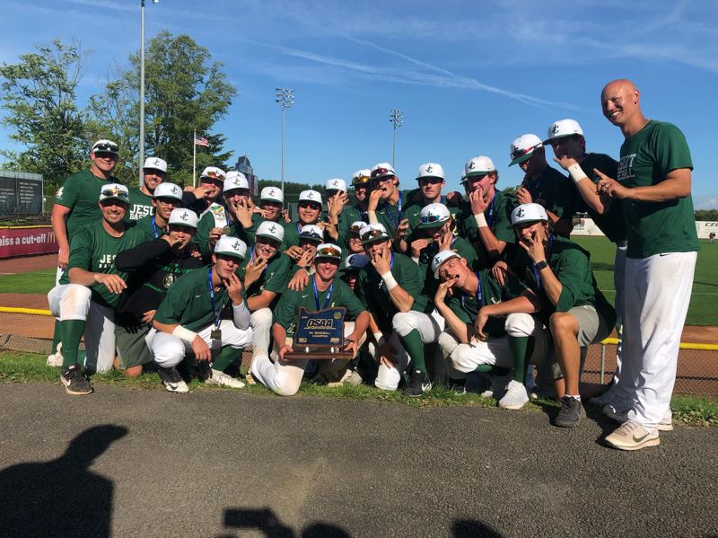 COURTESY PHOTO: BRIAN MURPHY - The Jesuit baseball team was one of 11 squads to take home a Class 6A state championship for the Crusaders this past school year.