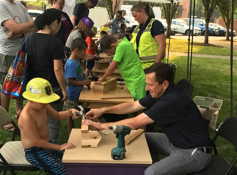 PMG PHOTO: LESLIE PUGMIRE HOLE - Wilsonvilles summer block party offers fun for the whole family.