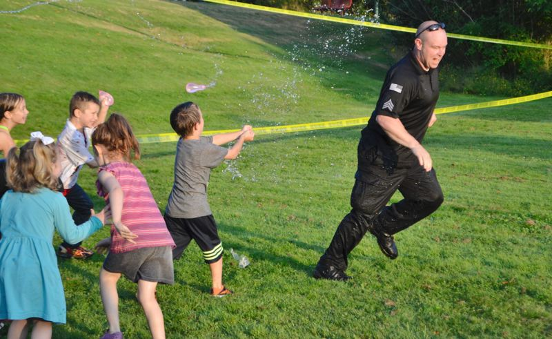 Police serve community with night of fun