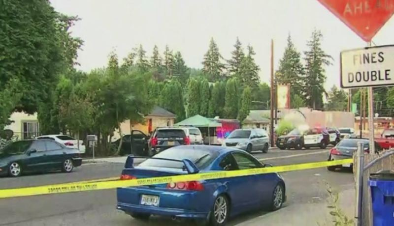 KOIN 6 NEWS - Southeast 136th Avenue was closed early Wednesday.