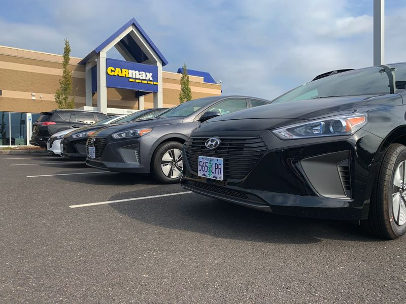 COURTESY LYFT - Some of the new Hyundai Ioniq Hybrids available to Lyft drivers.