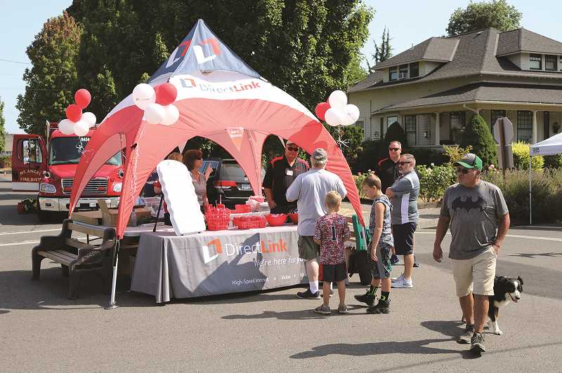 COURTESY PHOTO - Community members are invited to downtown Mount Angel for a street fair on Aug. 16 from 11 a.m. to 2 p.m., featuring free food, a bounce house, scavenger hunt, face painting, bike rodeo and more.