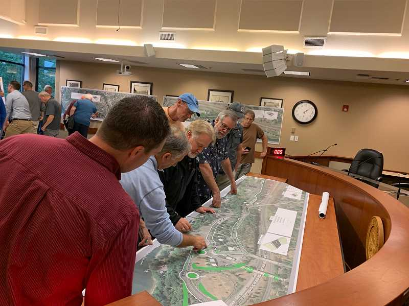 City proposes changes for Willamette Falls Drive