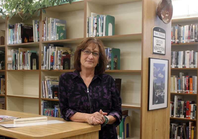 DESIREE BERGSTROM/MADRAS PIONEER - Jane Ellen Innes looks forward to reaching out to Jefferson County residents to learn what the library can do better and plans to keep the Community Read program going strong.