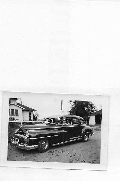 COURTESY PHOTO  - JoAnn Parsons learned to drive in this DeSoto.