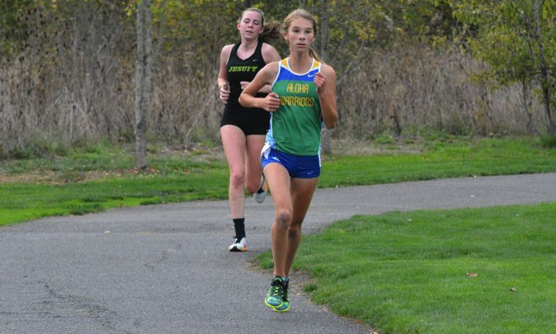 TIMES FILE PHOTO - Aloha junior Emily Foote finished seventh at the Metro League district championship meet last year.