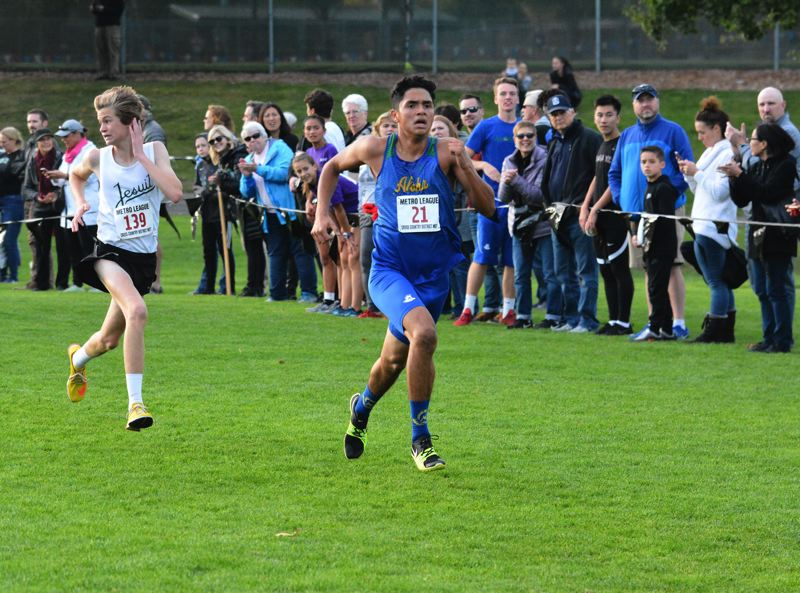 TIMES FILE PHOTO - Aloha junior Leo Torres took fifth at the Metro League district championship meet last year.
