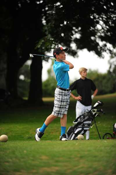 COURTESY PHOTO  - High school prep courses, and after school golf club and  junior league, are all offered through Lake Oswego Parks and Rec. Keep playing golf through fall.