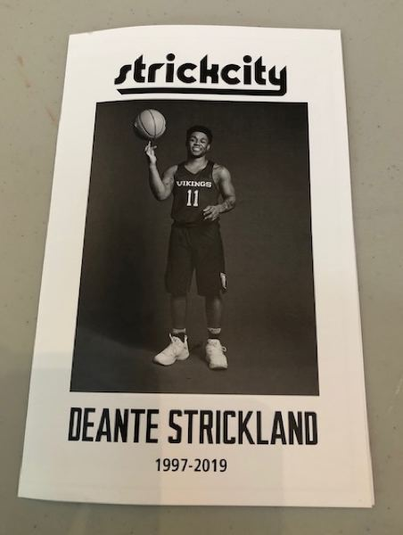 DEANTE STRICKLAND REFLECTION OF LIFE PROGRAM