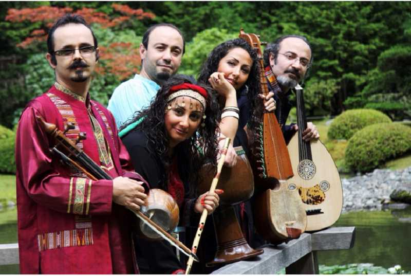 COURTESY PHOTO  - The Daneshvar Family Ensemble will perform during the Portland Persian Party Aug. 24. The festival is free and open to all.